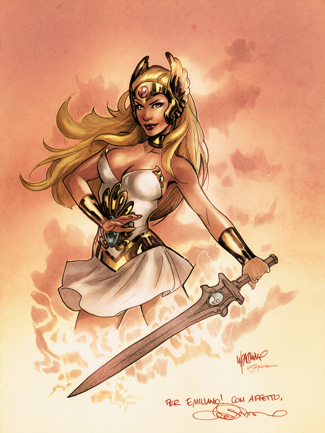 Manu She-Ra color