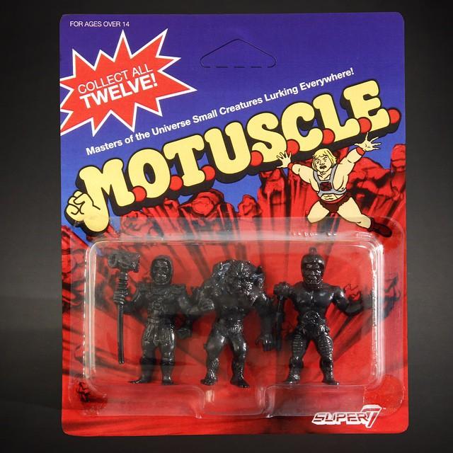 black MOTUSCLE