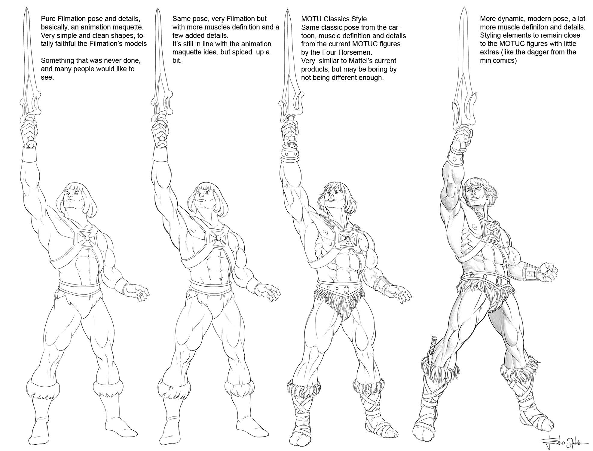 He-Man styles board