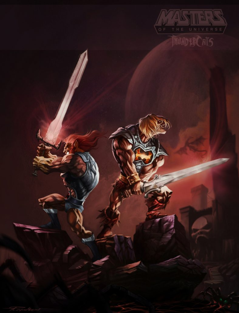 Reyad Yousri He-Man and Lion-O