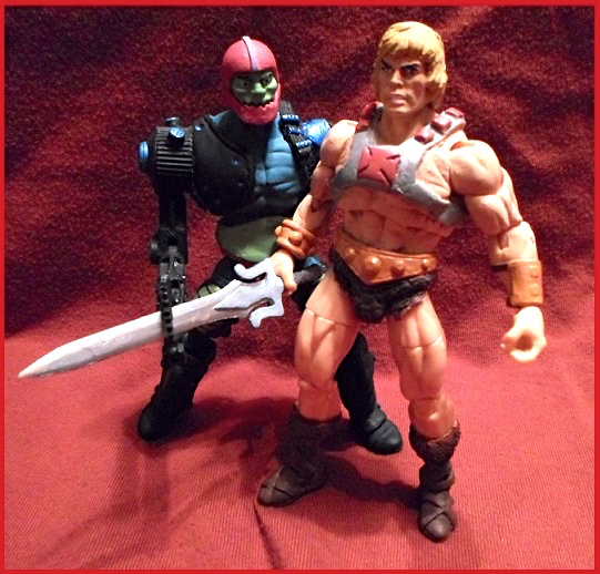 Trap Jaw vs. He-Man!