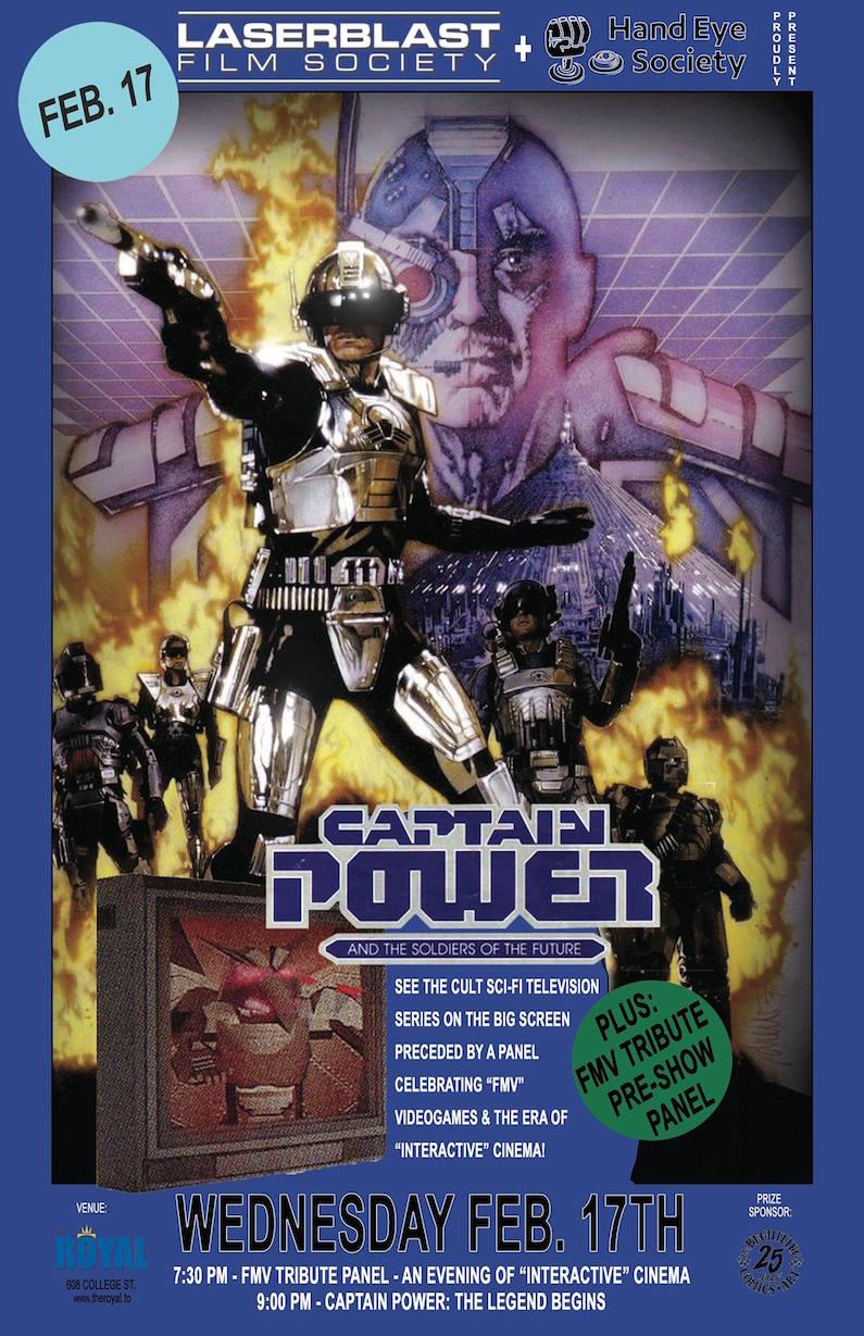 Captain Power screening Toronto