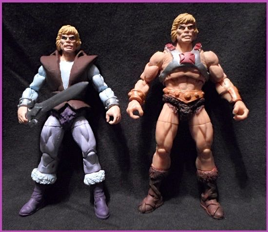 MOTU Prince Adam and He-Man