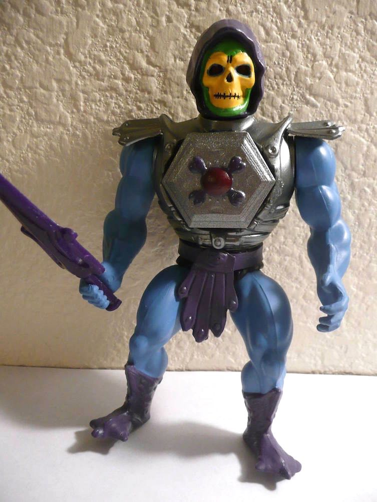 Custom Spotlight Vintage Skeletor Concept Figure He Man