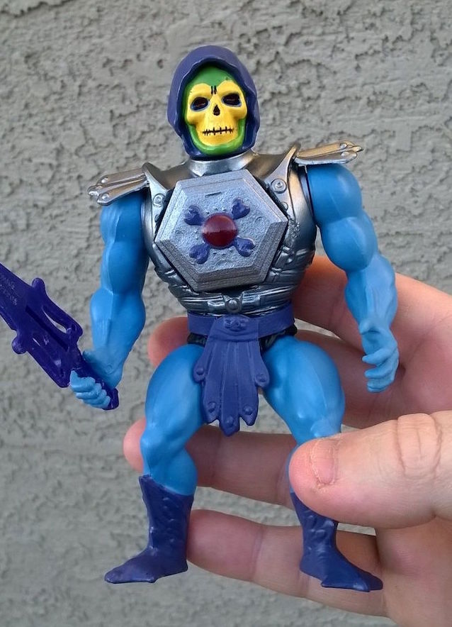 Skeletor in hand