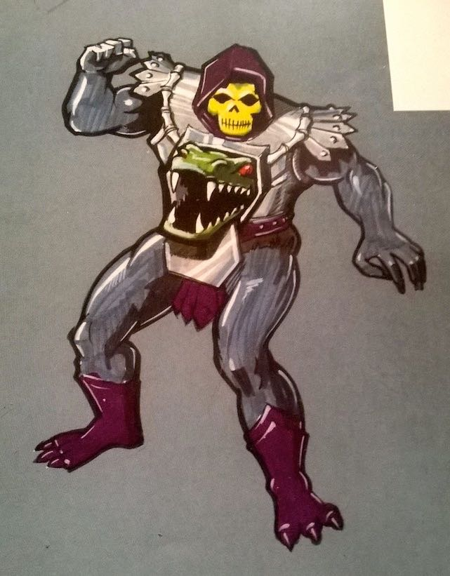 skeletor custom p1