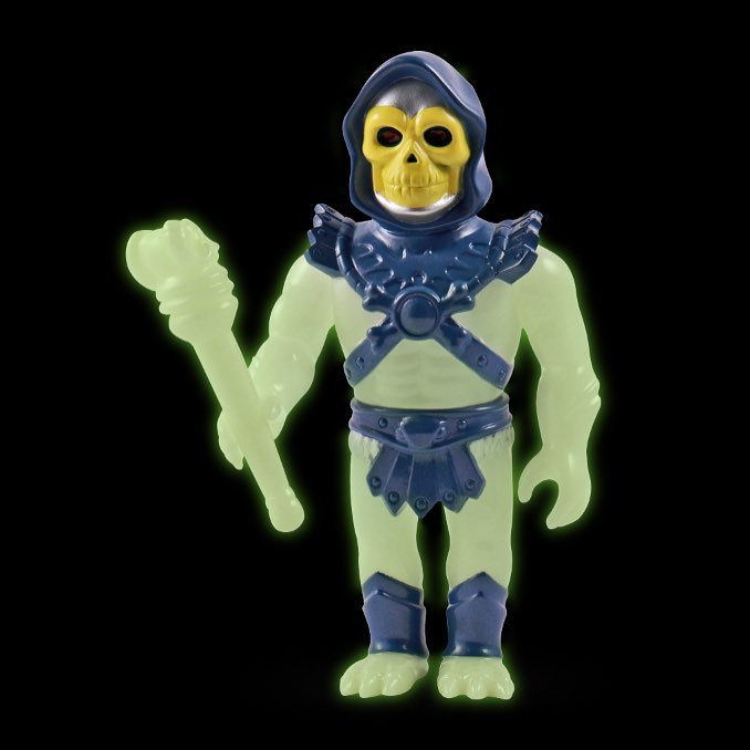 Glow Skeletor Super7
