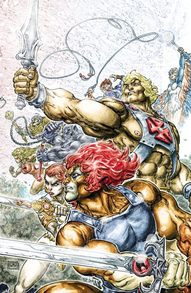 Cover #1 HE-MAN:THUNDERCATS