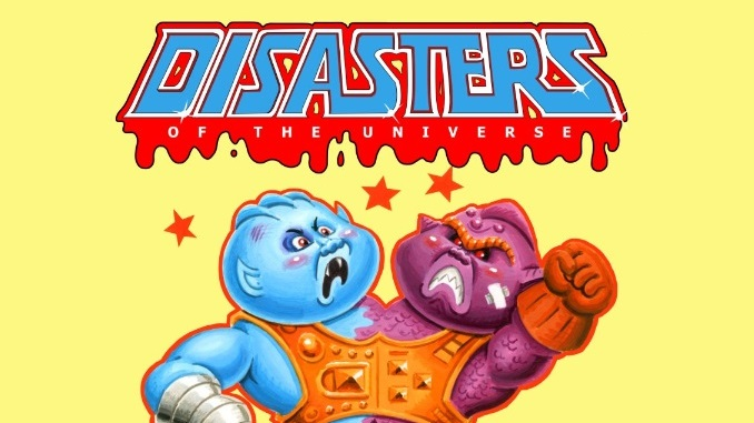 Mark Pingitore of Magic Marker Art has created some amazing MOTU-inspired parody artwork, that will be featured on t-shirts and stickers.