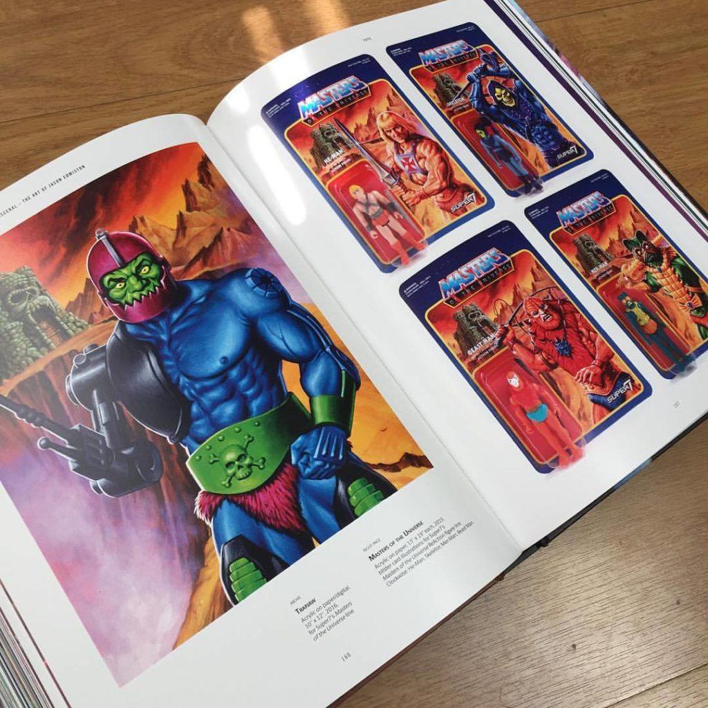 Jason Edmiston MOTU art pages