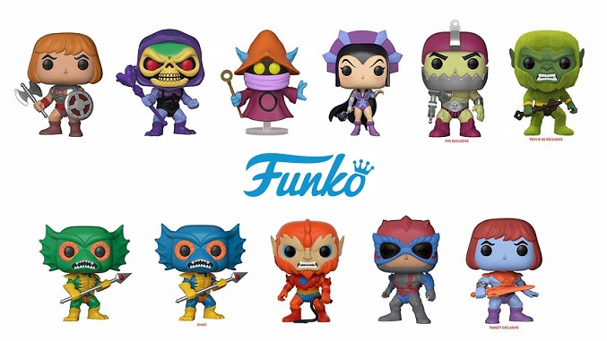 Coming Soon From Funko Masters Of The Universe Pop S He