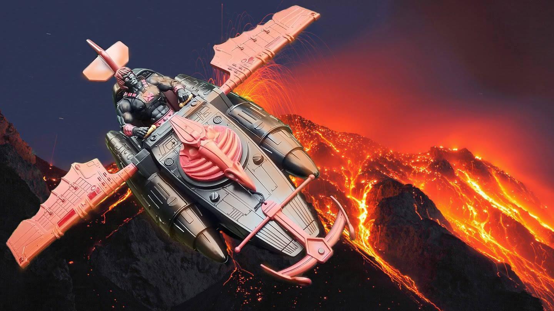 Anti-Eternia He-Man and Wind Raider