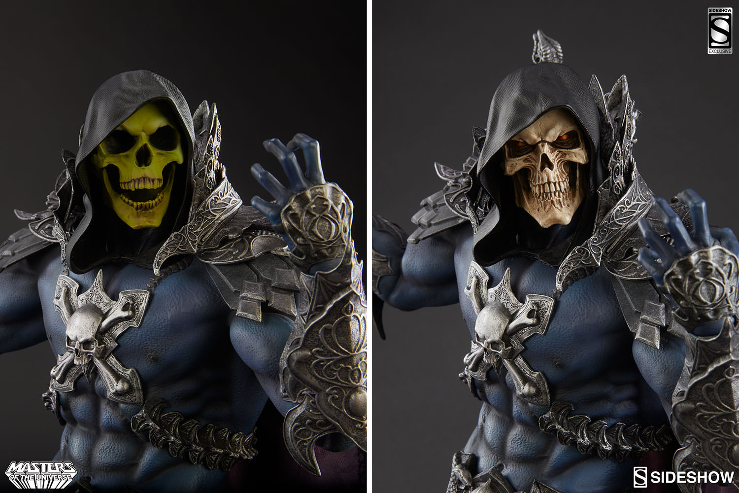 New Photos Of The Skeletor Statue From Sideshow He Man World