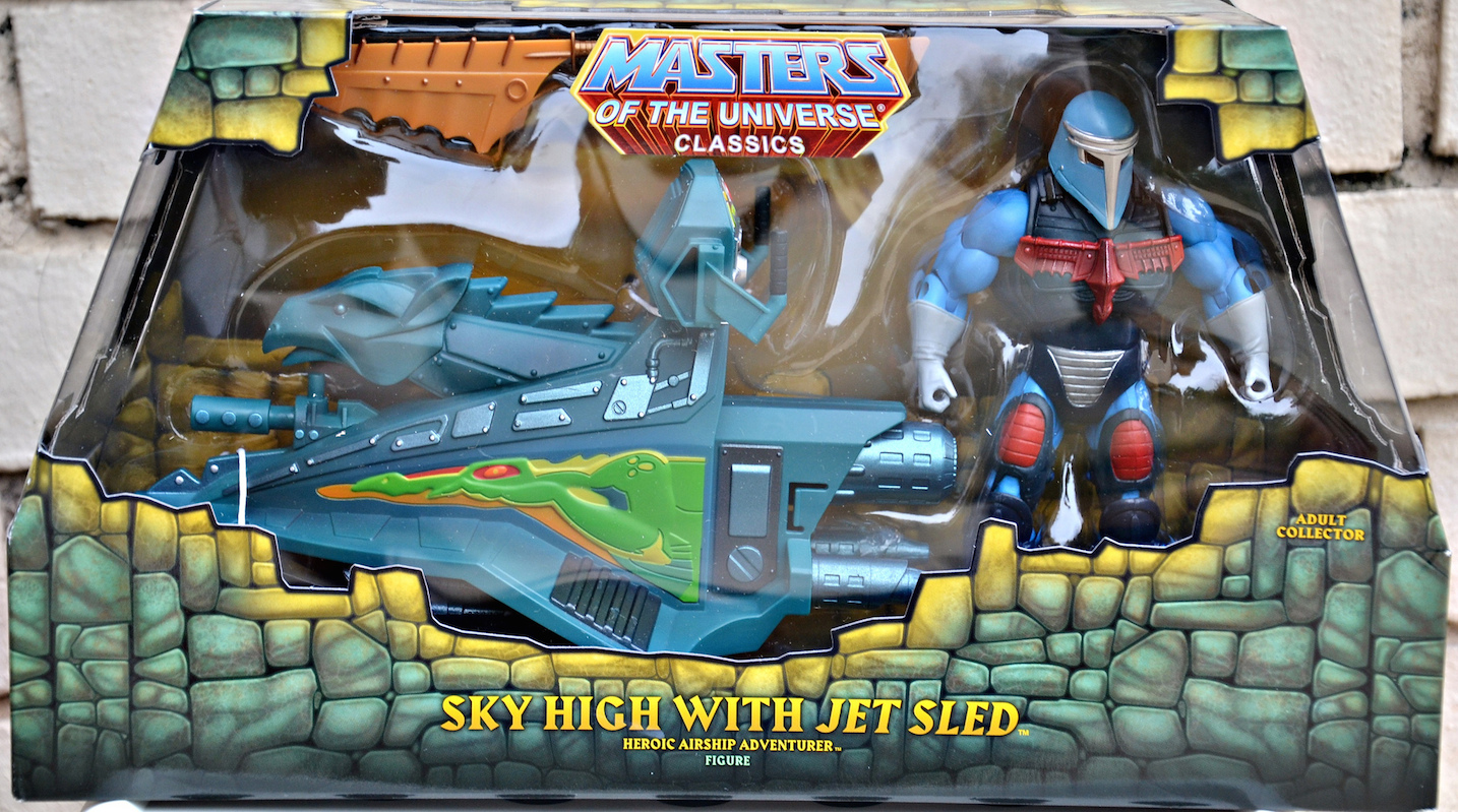 SKY HIGH (with JET SLED) - He-Man World