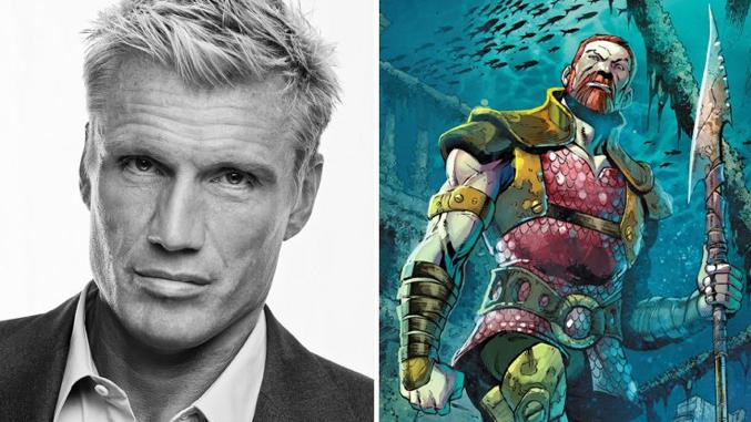 Aquaman casts Dolph Lu...