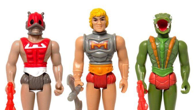 Mini Figures Wave 3 Masters of the Universe M.U.S.C.L.E He-Man Muscle Set