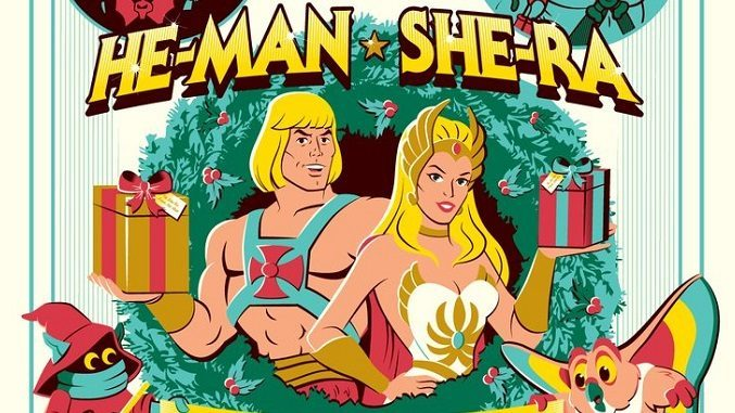 He Man Christmas.He Man And She Ra A Christmas Special Posters By Dave