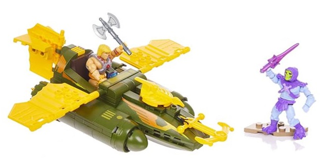 MOTU Construx Wind Raider Attack Construction Set