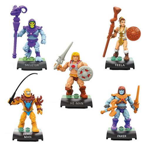 MOTU MCX Heroes Collector's Edition Mini-Figure 5-Pack
