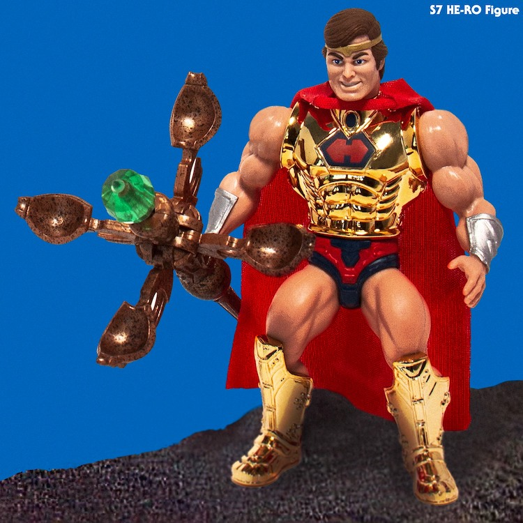 MOTU Vintage WAVE 2 Super 7 S7 He-man Teela Beast Man-at-Arms He-ro Eldor Set 6