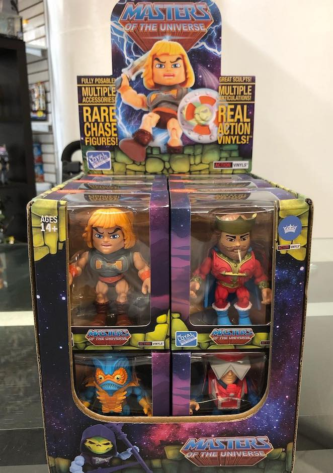 The Loyal Subjects Hot Topic Exclusive Masters Of The Universe Mekaneck MOTU